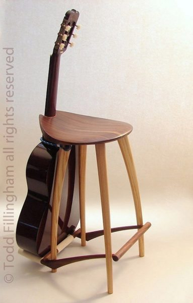 fillingham-guitar-stool-stand & This guitar stool/stand is for the guitarist with deep pockets islam-shia.org