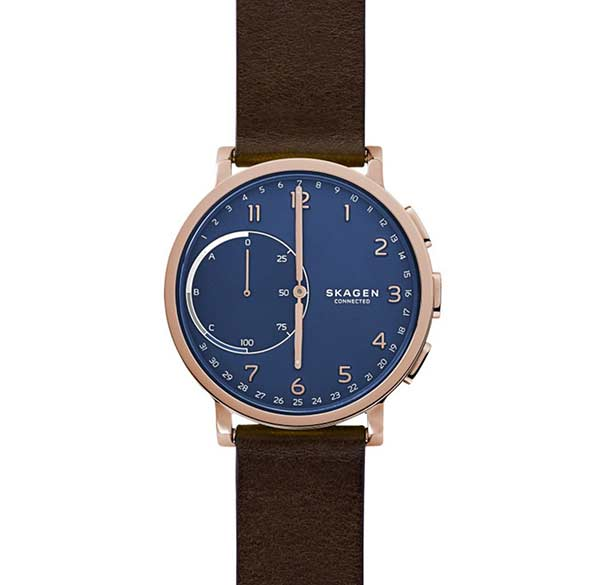 analog meets digital with skagen smartwatches