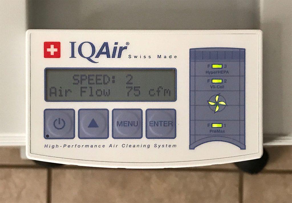 Iqair Healthpro Series Air Purifier Review The Gadgeteer