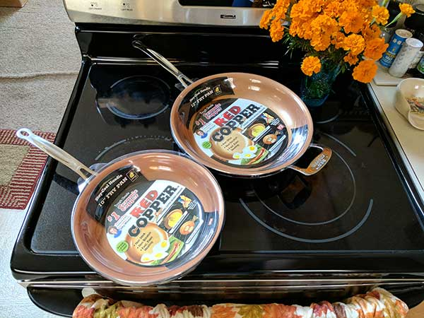 As Seen On Tv Red Copper Cookware Review The Gadgeteer