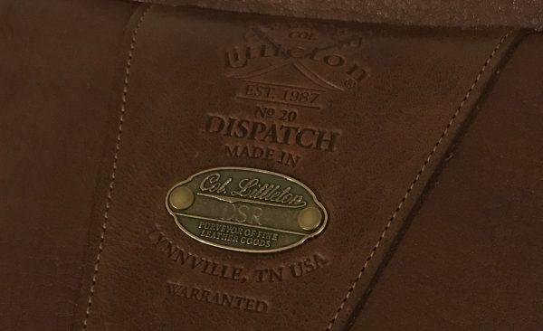 colonellittleton no20 dispatchbag plaque