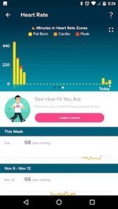 fitbit charge2 110