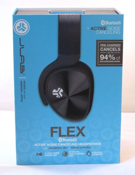 jlab flex bluetooth active noise canceling headphones review headph. Black Bedroom Furniture Sets. Home Design Ideas
