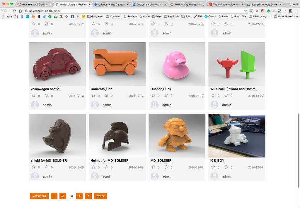 Yeehaw 3D Printer review – The Gadgeteer
