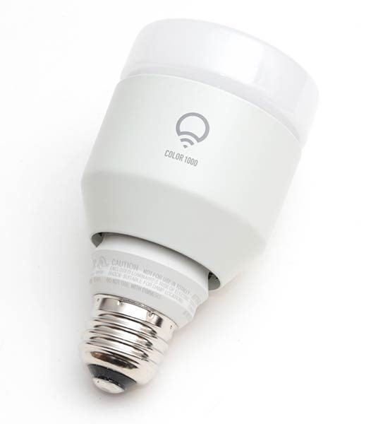The LIFX A19 Style Bulb Has A Similar Size To A Traditional Incandescent  Light Bulb, But It Definitely Has A Different Look. Light Only Comes Out Of  The Top ...