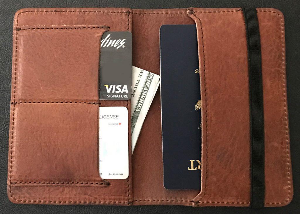 1635572b3d13 Buffalo Jackson Leather Passport Travel Wallet review – The Gadgeteer