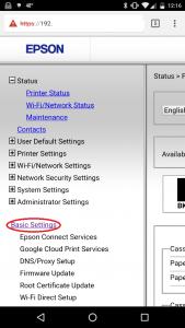 Epson Printer Firmware Update