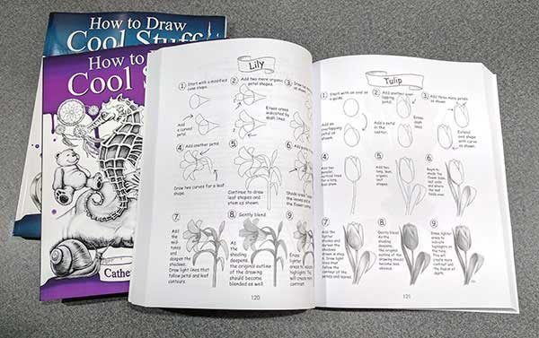 Become a doodling wizard with these How to Draw Cool Stuff books – The Gadgeteer