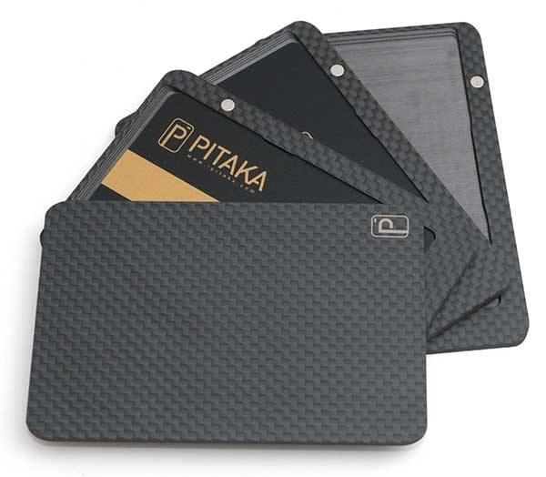 buy online e617b e2e6e PITAKA carbon fiber magnetic wallet review – The Gadgeteer