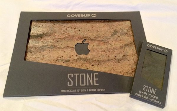 cheap for discount a23ca f676f Cover-Up MacBook and iPhone stone cases review – The Gadgeteer