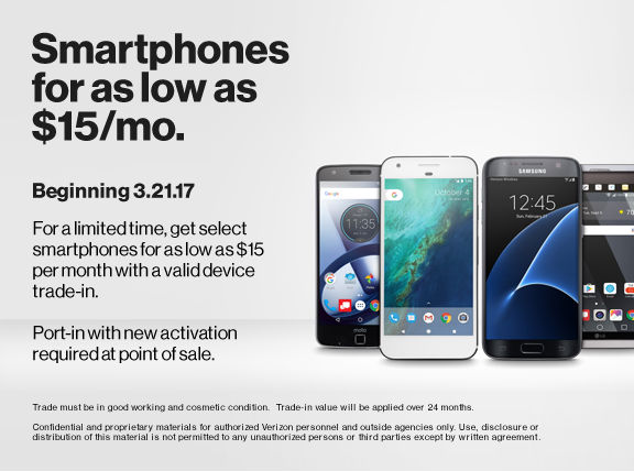 Switch to Verizon Unlimited and get the hottest phones ...