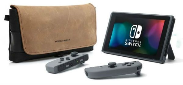 WaterField Designs has 2 new cases to protect your Nintendo Switch – The Gadgeteer