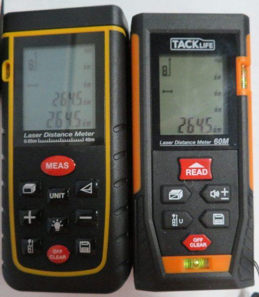 Tacklife Hd60 Laser Distance Measurer Review The Gadgeteer