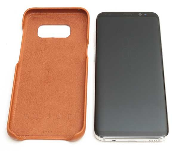 huge discount 239e2 178ce Mujjo Samsung Galaxy S8 full grain leather case review – The Gadgeteer