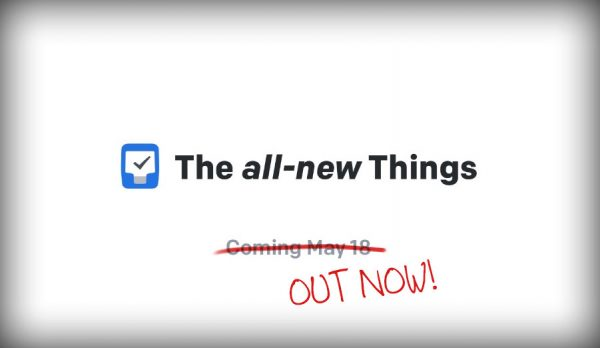 things3 cultured code may 2017 launch