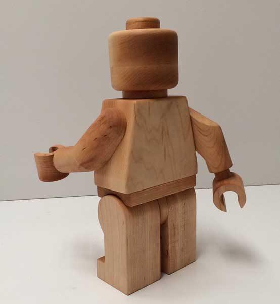 wooden legoman 1