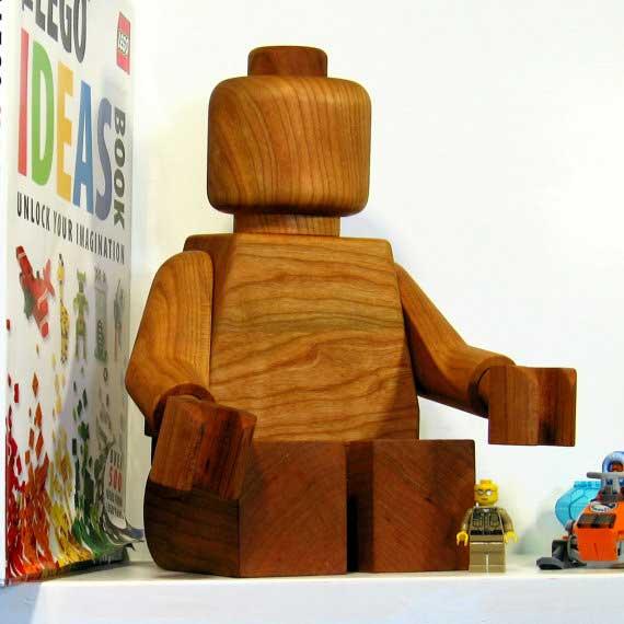 wooden legoman 2