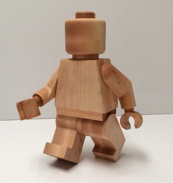 wooden legoman 3