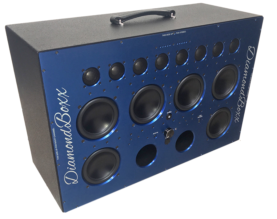 Diamond Box Xl >> Who Knew Diamonds Could Be So Loud The Gadgeteer