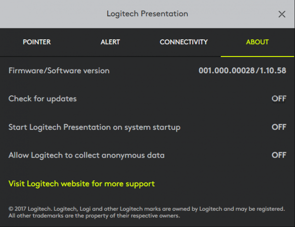 Logitech Spotlight 15