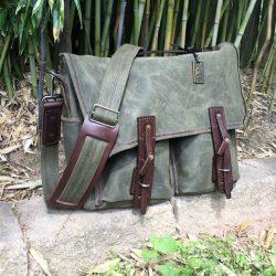 Saddleback Leather Mountainback Front Pocket Gear Bag review