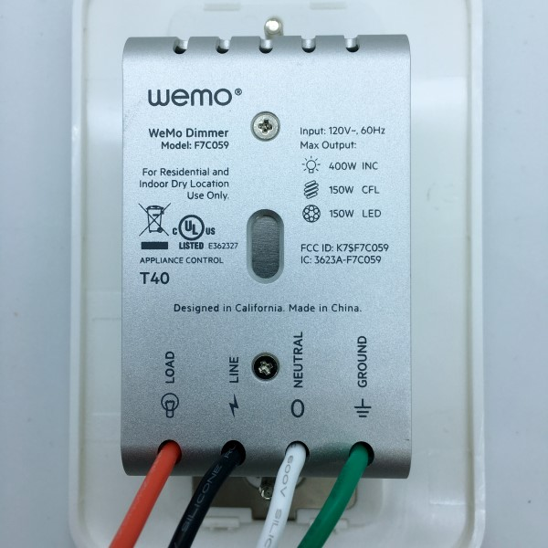 [DIAGRAM_5FD]  Wemo Wi-Fi Smart Dimmer Light Switch review – The Gadgeteer | Wemo Wiring Diagram |  | The Gadgeteer