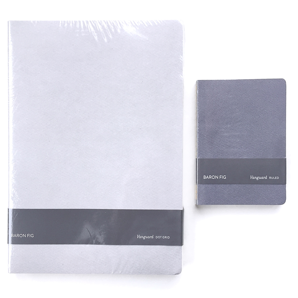 The Vanguard Notebooks Are Sold Only As 3packs, Not Individually As Shown  Above, Each 3packed Was Shrinkwrapped, With A Simple Cardboard Band  Around