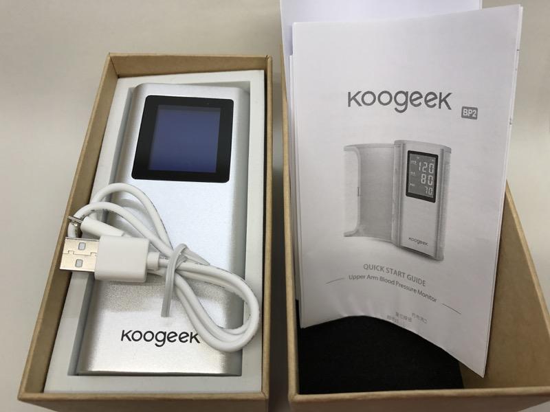koogeek blood pressure monitor manual