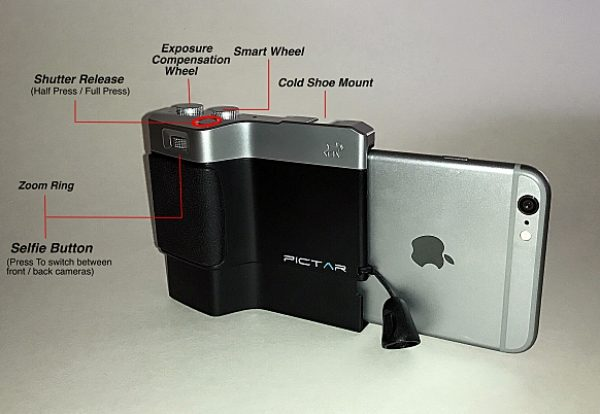 newest 57477 fd25b Miggo Pictar Plus iPhone camera grip review – The Gadgeteer