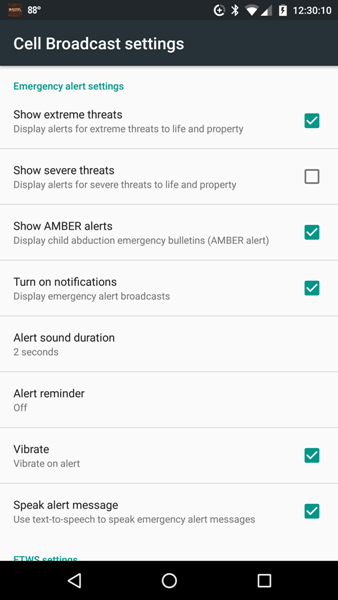 Wireless Emergency Alerts (WEA) explained: AMBER alerts and