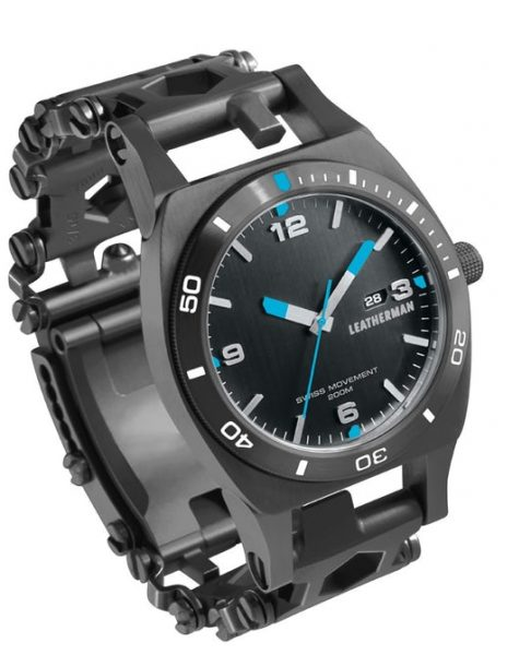 Leatherman Adds Watch To Tread Tread Lt The Gadgeteer