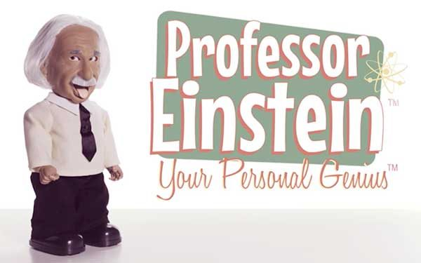 Get blinded with science from your very own mini Professor Einstein robot – The Gadgeteer