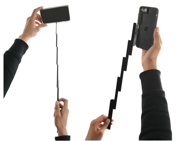 forget about stand alone selfie sticks this one is built into your iphone 7. Black Bedroom Furniture Sets. Home Design Ideas