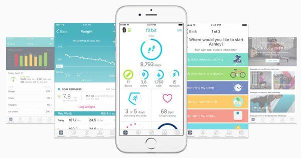 fitbit altaHR apps