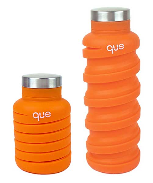 This Collapsible Water Bottle Takes Up Half As Much Space