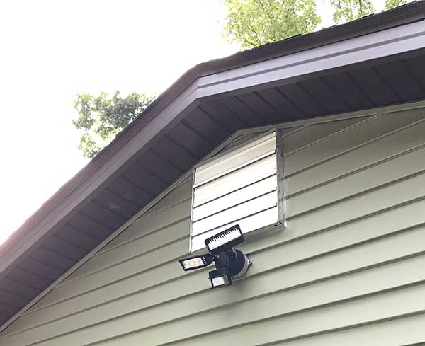 Sansi 30w led security motion sensor outdoor light review the were in the middle of remodeling the exterior of our house it had wood painted wood siding and its currently i can hear the contractors hammering right workwithnaturefo
