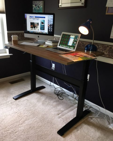 VertDesk V3 Electric standing desk review – The Gadgeteer