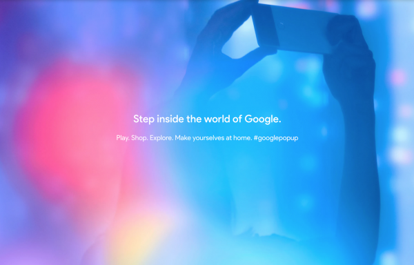 Google opens pop-up stores on the east and west coast – The