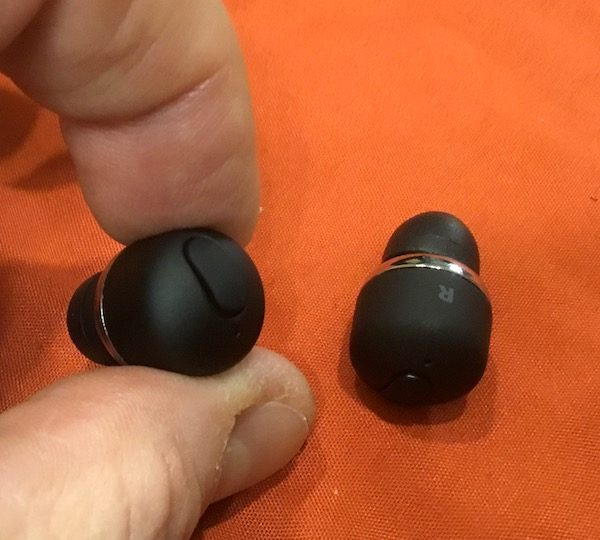 157ea1757a7ff4 The TRNDlabs NOVA True Wireless earbuds are tiny and bullet-shaped with a  single multifunction button on the tip of each earbud, and that's all there  is to ...