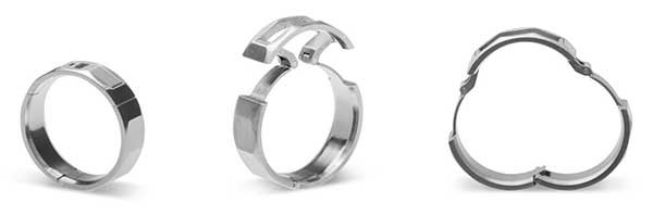 who has a background in making hardware for yachts racing sailboats and bicycles his unique mechanical wedding bands are created for active men but - Gear Wedding Ring