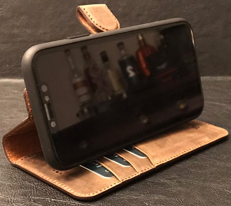 finest selection 727c0 04700 Burkley Magnetic Detachable Leather Wallet iPhone X case review ...