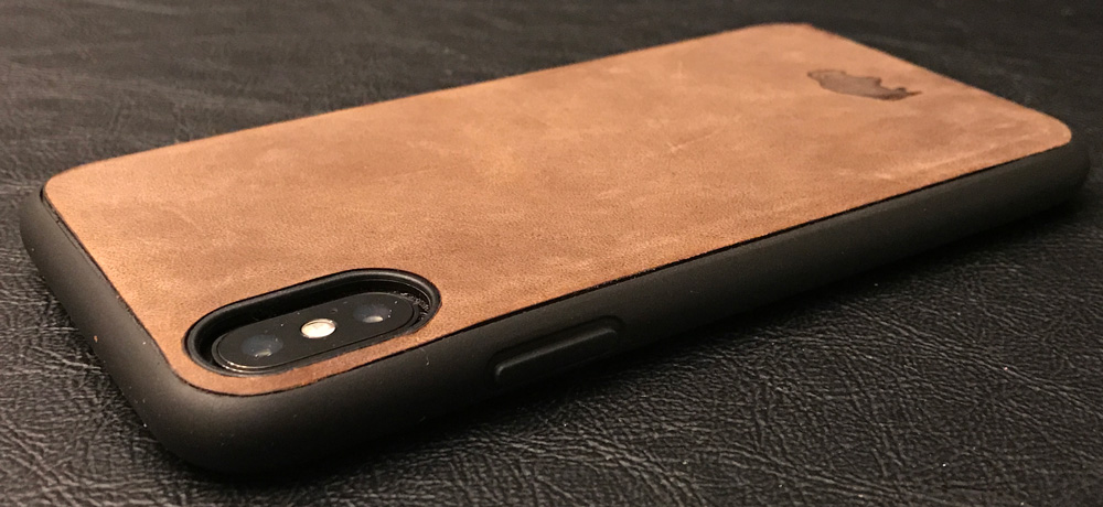 bc148f9579 The iPhone X's camera bump is slightly recessed providing greater  protection.