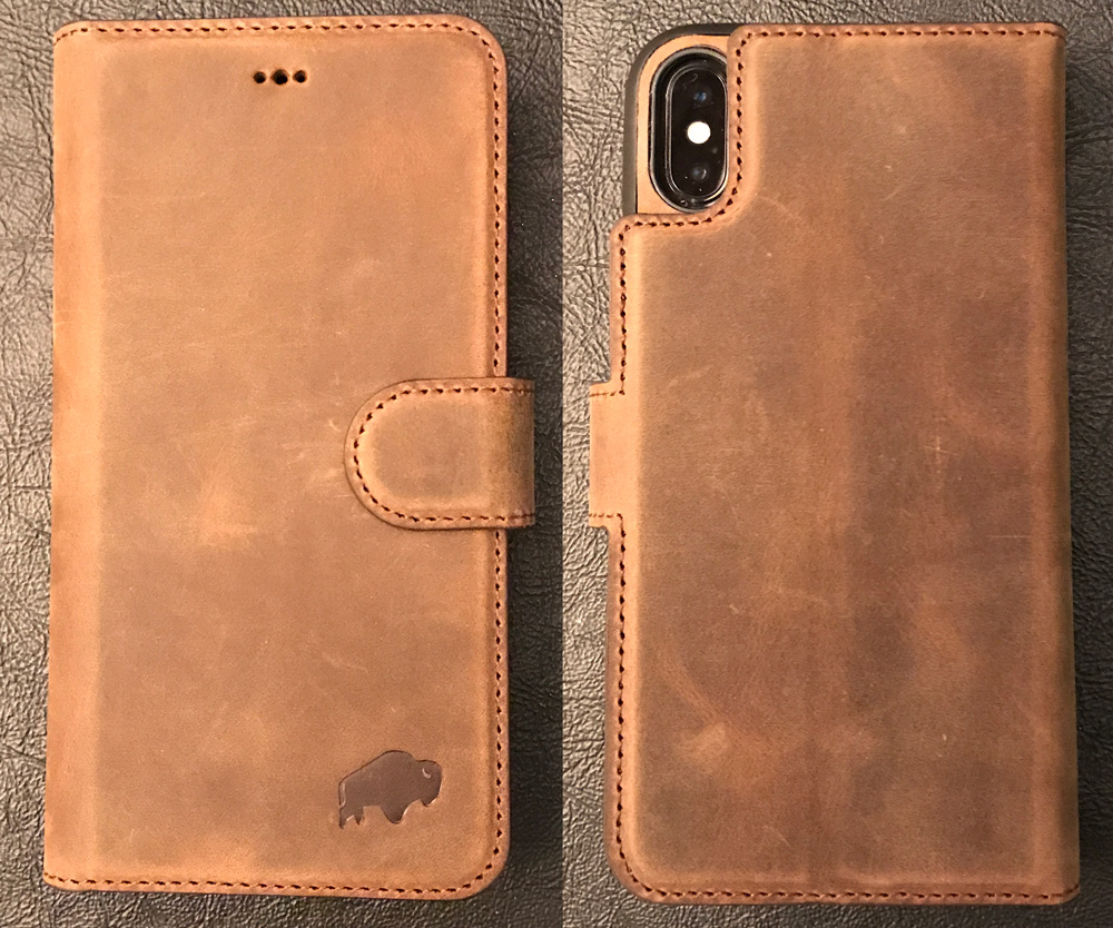 finest selection 0df2f 3f699 Burkley Magnetic Detachable Leather Wallet iPhone X case review ...