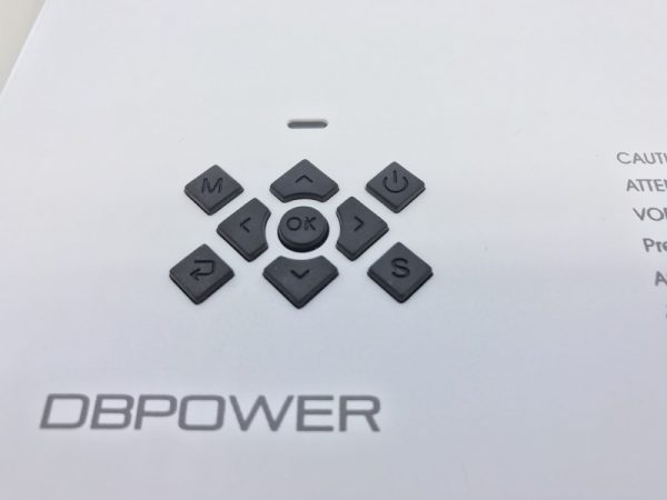 dbpower T21 projector 07