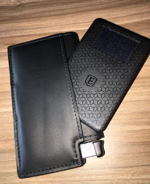 Ekster parliament tracker wallet review the gadgeteer the card is a is designed to work with the trackr app youll download to your smartphone choose add a new device and choose the works with trackr option reheart Images
