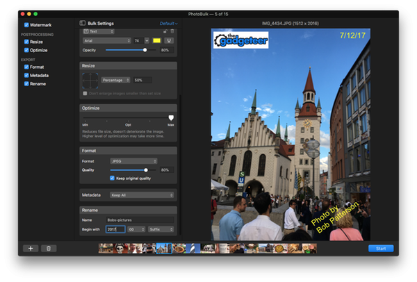 eltimasoftware photobulk 7