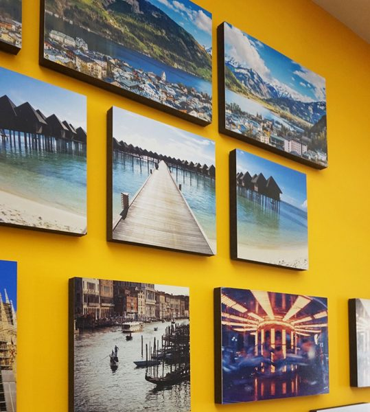 Meshcanvas adhesive custom prints hang without nails the Hang up paintings without nails