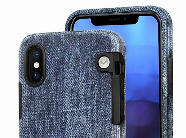 hot sale online 51c9a 1eea4 Dress your new iPhone X in blue jeans with this unique case – The ...