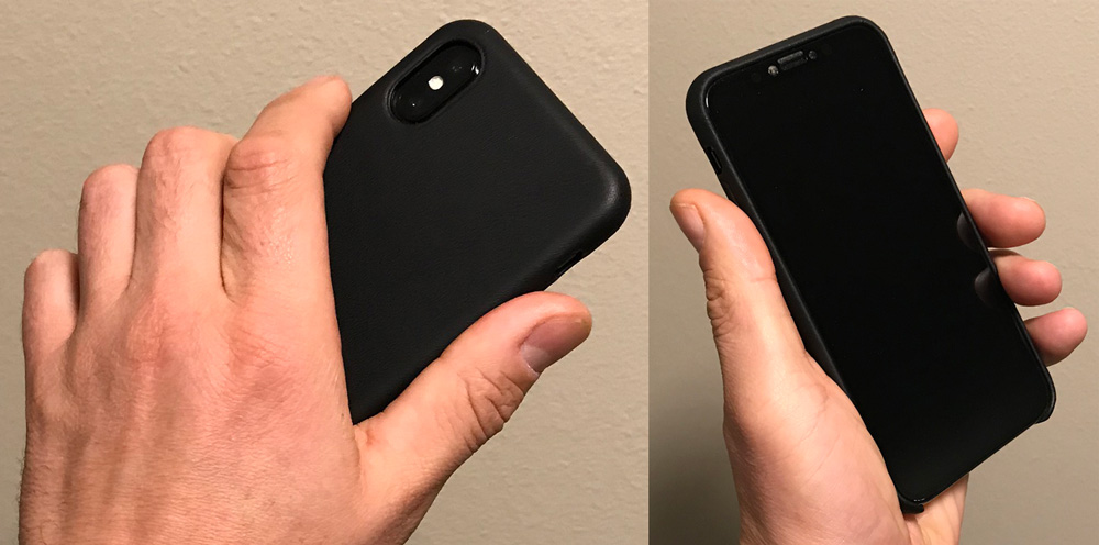 super popular 4fc1d 9484e Mujjo full leather iPhone X case review – The Gadgeteer