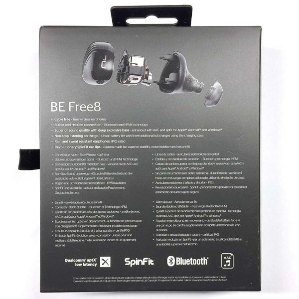 - optomanuforce befree8 02 600x600 - Optoma NuForce BE Free8 Bluetooth wireless earbuds review – The Gadgeteer